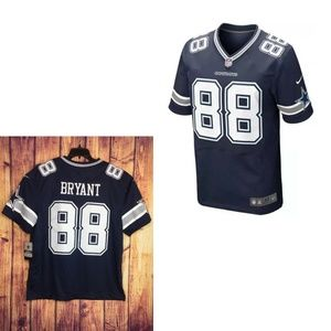 Nike Dez Bryant 88 Blue ON FIELD Dallas Cowboys XL